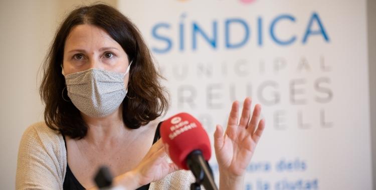 Eva Abellán,  Síndica Municipal de Greuges de Sabadell | Roger Benet