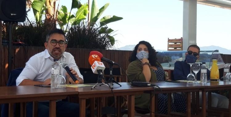Gabriel Fernàndez i Glòria Llobet, regidors d'ERC | Núria García