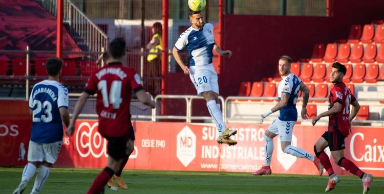 Grego Sierra en el seu últim partit com arlequinat a Anduva | Roger Benet
