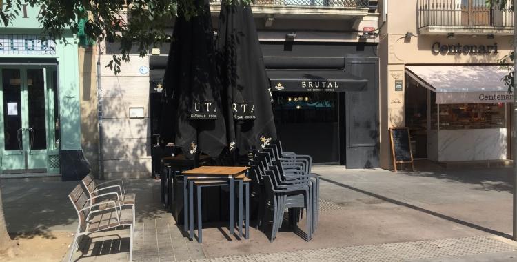 Façana del local aquesta tarda | Ràdio Sabadell