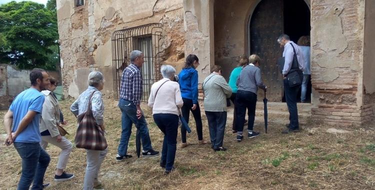 Visitants a la Masia de Ca n'Oriac | Arxiu
