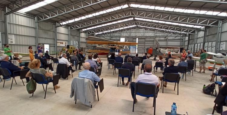 Presentació del protocol al Museu de l'Aeronàutica de l'Aeroport de Sabadell | Pere Gallifa