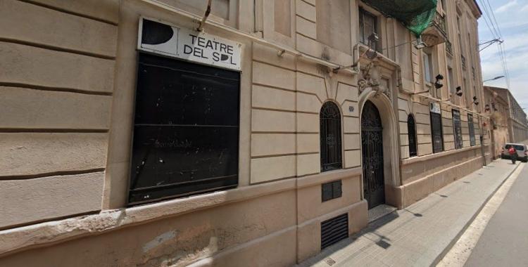 Façana del Teatre del Sol | Arxiu