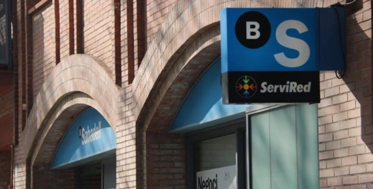 Imatge d'una sucursal de Banc Sabadell | ACN