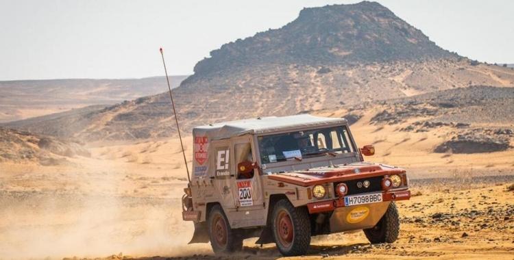 Imatge de la primera edició del Dakar Classic | Cedida