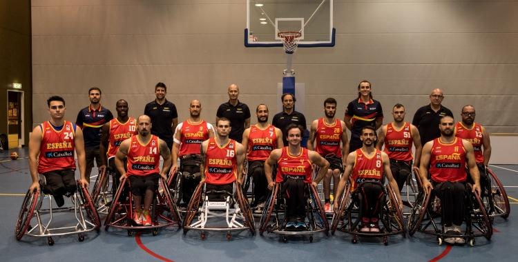 La selecció espanyola, encapçalada pel sabadellenc Óscar Trigo | FEDDF
