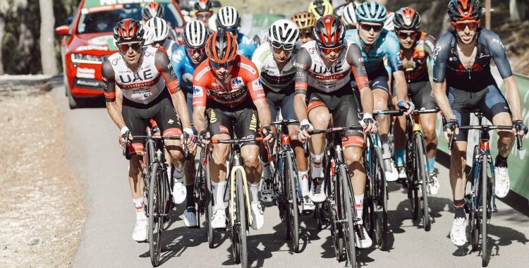 De la Cruz s'ha mostrat durant tota La Vuelta entre els millors   Bettini Photo - UAE Team
