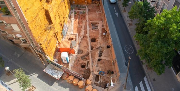 Excavació del carrer Salut/ Roger Benet