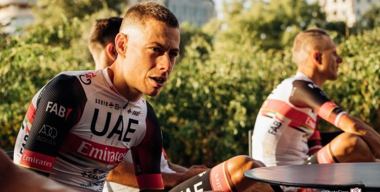 David de la Cruz ve de singar un cinquè lloc a la Vuelta a Burgos | Team Emirates