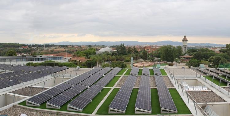Plaques fotovoltaiques del Taulí Nou/ Cedida Taulí