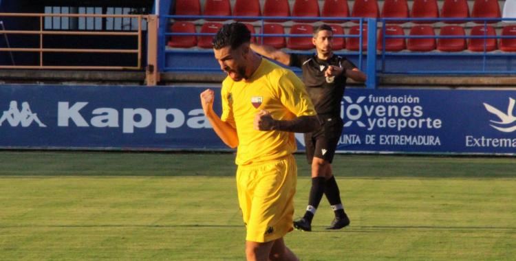 Dani Sánchez semblava que havia de ser home important amb l'Extremadura enguany   @albertolorite