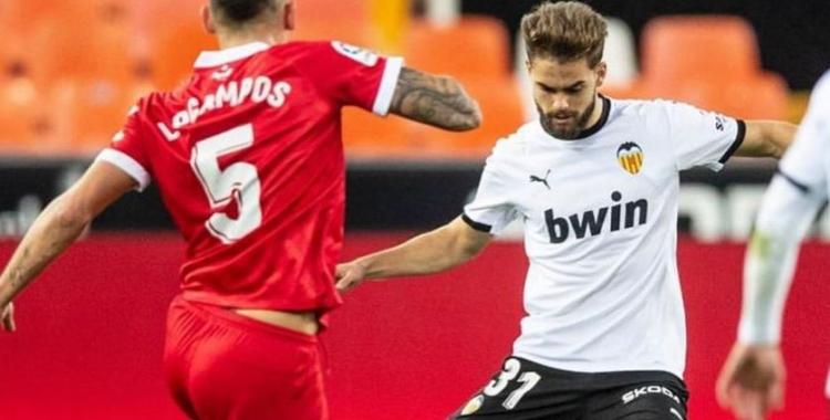 Guillem Molina ha jugat les últimes temporades amb el filial del Valencia   Cedida