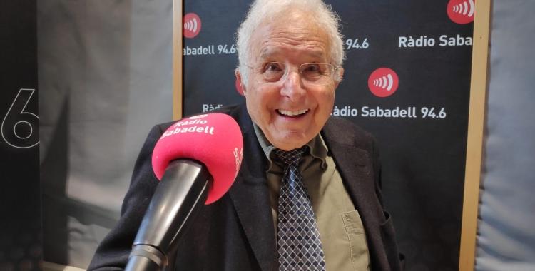 Salvador Fité a Ràdio Sabadell l'any 2019 | Arxiu