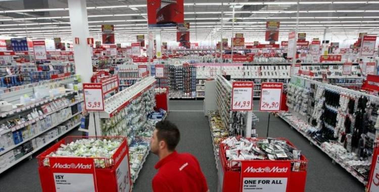Interior d'una botiga MediaMarkt | MediaMarkt