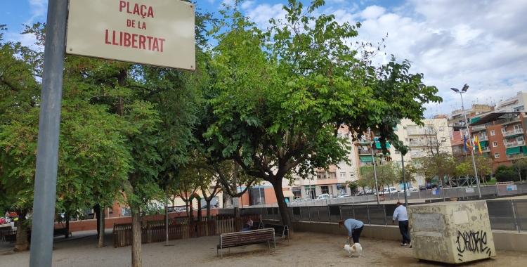 La plaça de la Llibertat serà, de nou, objecte de reformes | Pau Duran