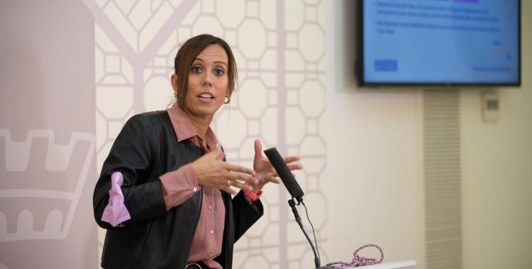 Marta Farrés, desgranant els primers projectes presentats al Ministeri de Transports per optar als Next Generation   Roger Benet