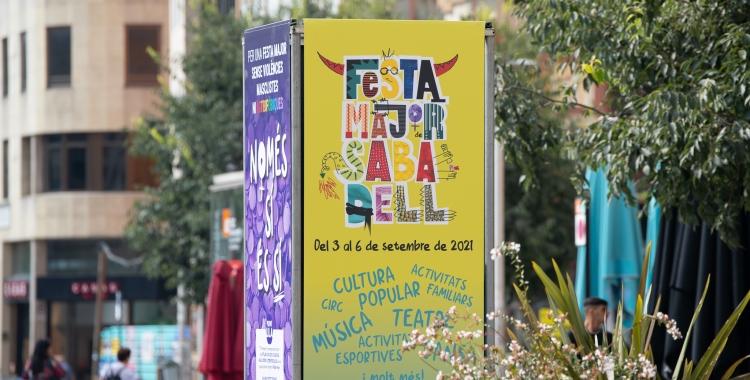 El cartell de la Festa Major de Sabadell 2021 | Roger Benet
