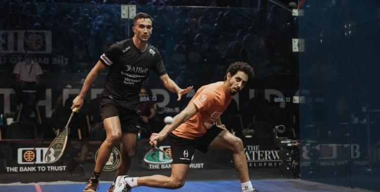Pajares no va tenir opció contra l'egipci Momen a vuitens | CIB Egyptian Open