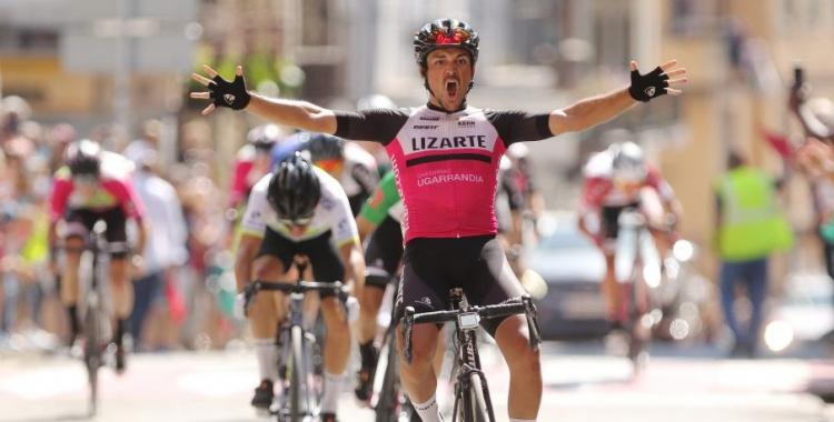 Raúl Rota en el moment de la victòria | Equipo Lizarte