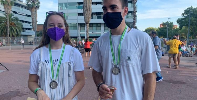 Núria León i Pau Josa, guanyadors del Ball de la Bola 2021 | Mireia Sans