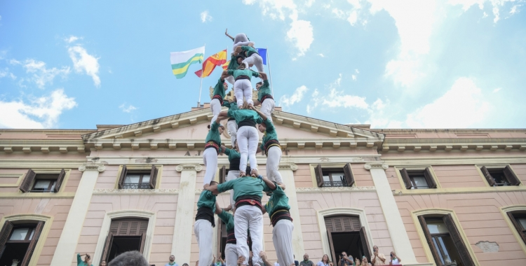 Els Castellers de Sabadell a la Festa Major 2019 | Roger Benet