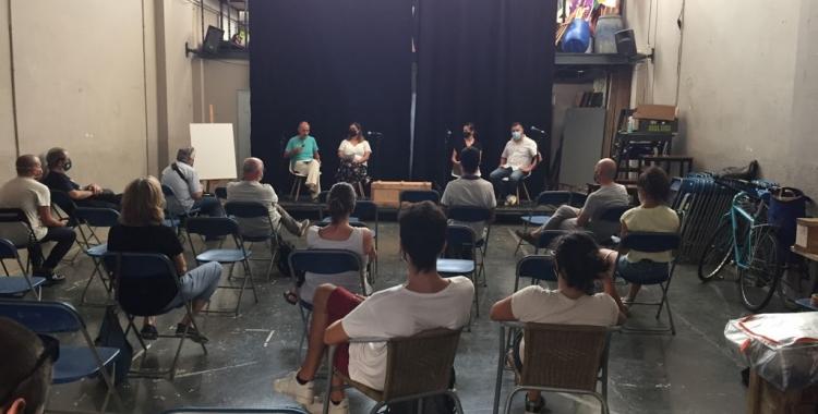 Un moment de la presentació de PEUS | Ràdio Sabadell
