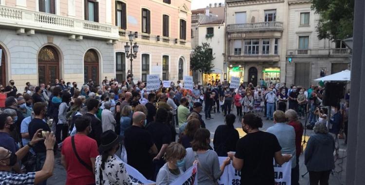 Un moment de l'acte convocat per SBD País | Ràdio Sabadell