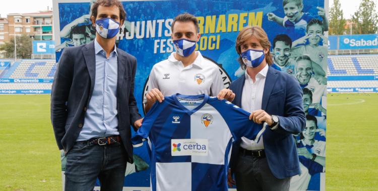 Sergio Aguza ja ha estat presentat i té opcions d'estrenar-se dissabte amb l'equip | CES