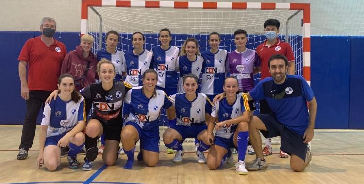 La plantilla del Futbol Sala Sabadell | FS Sabadell