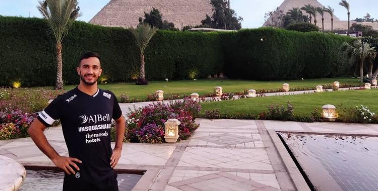 Pajares disputa la primera ronda a Egipte aquest migdia | Instagram