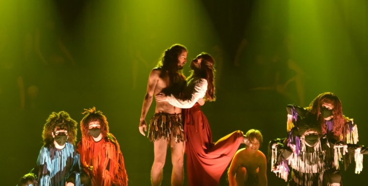 El Teatre Sant Vicenç arrenca la temporada diumenge reestrenant 'Tarzan'   Josep Ubia