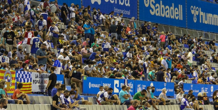 El Sabadell està venent entrades a taquilles a bon ritme   CES