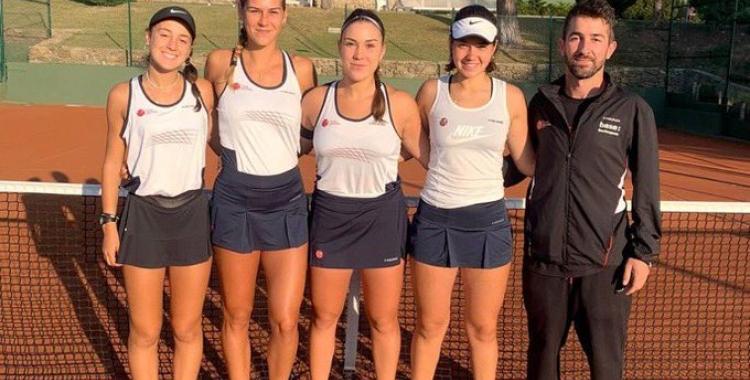 Equip femení del Cercle que ha disputat el Campionat d'Espanya | Cercle