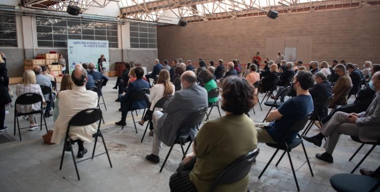 Presentació del projecte, aquest divendres, a l'Artèxtil   Roger Benet