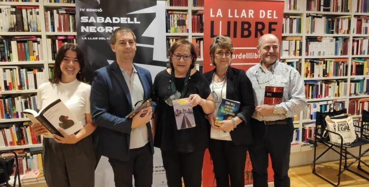 Presentació de la quarta edició del Festival Sabadell Negre   Pau Duran