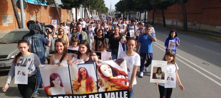 Manifestació per Caroline del Valle   Pere Gallifa