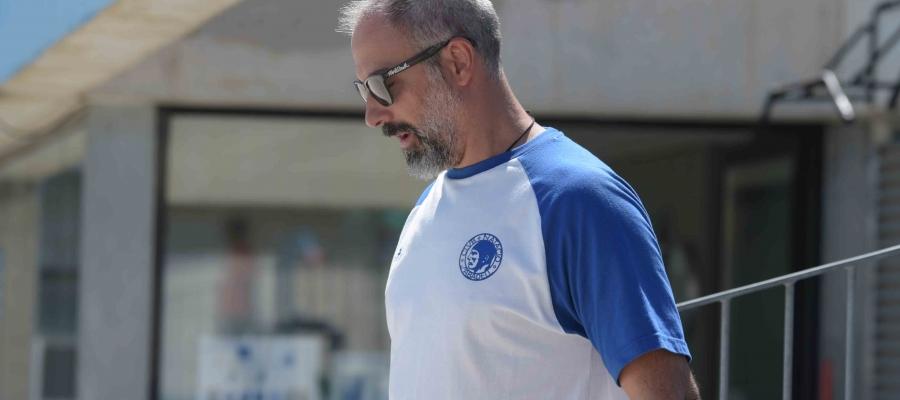 David Palma dimarts a l'últim entrenament a Sabadell abans de viatjar cap a Rússia | Roger Benet