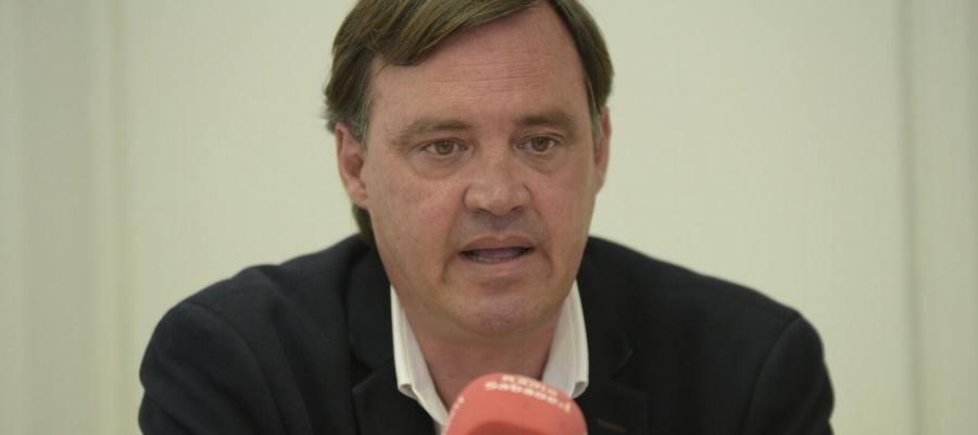 El portaveu del PP, Esteban Gesa | Roger Benet