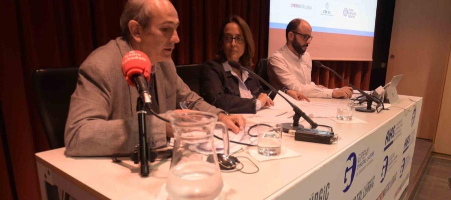 Representants de les patronals han presentat avui l'Informe de Conjuntura/ Roger Benet