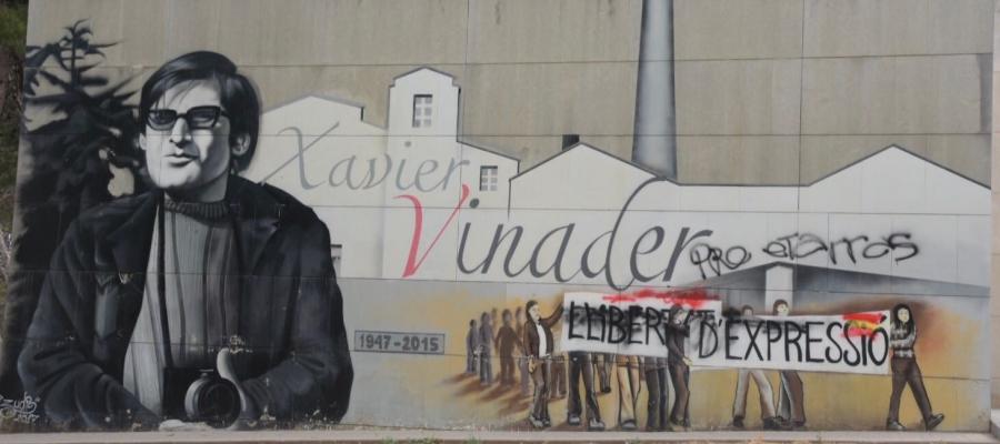 Enèsim atac al mural de Vinader | Roger Benet
