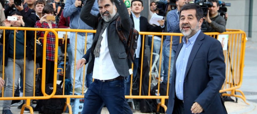 Jordi Cuixar i Jordi Sánchez | Arxiu ANC
