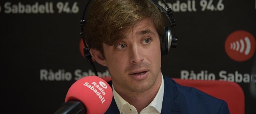El director esportiu arlequinat, Jose Manzanera, ha passat revista al dolç moment actual del Sabadell | Roger Benet