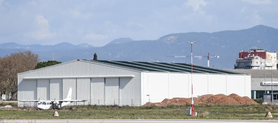 Edifici on s'allotjarà el museu a l'Aeroport | Roger Benet