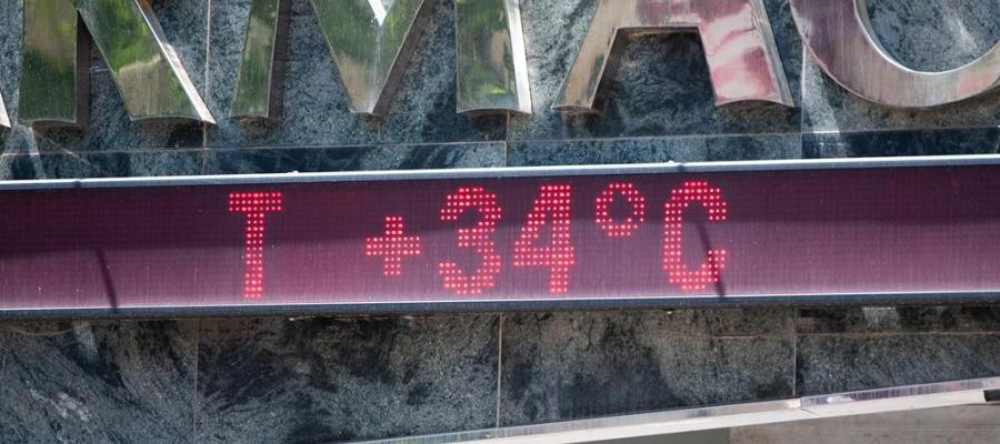 Un termòmetre a Sabadell | Roger Benet