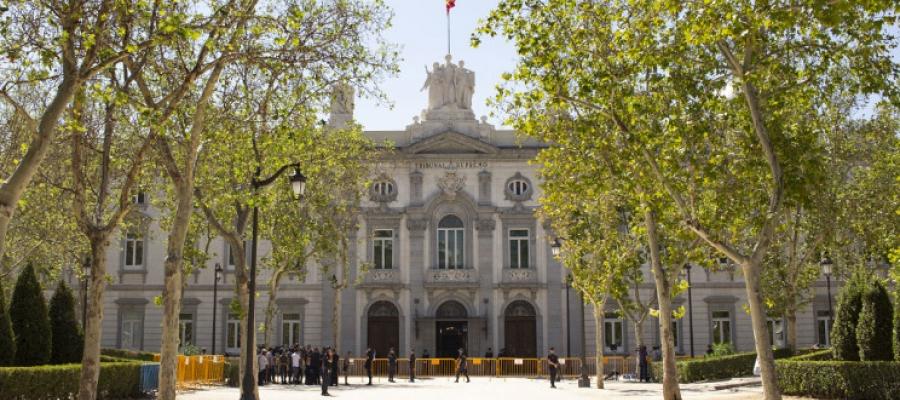 Façana del Tribunal Suprem | Cedida