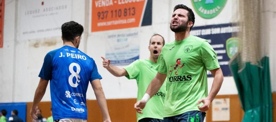 El Futsal Pia ha perdonat nombroses ocasions | Roger Benet