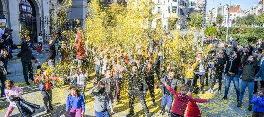 Moment d'eufòria durant la celebració a Doctor Robert | Roger Benet