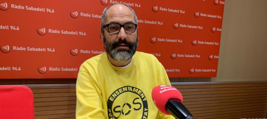 Ramon Font, a Ràdio Sabadell/ Mireia Sans