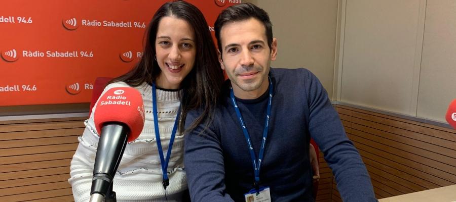 Costal i Pons, als estudis de Ràdio Sabadell/ Mireia Sans