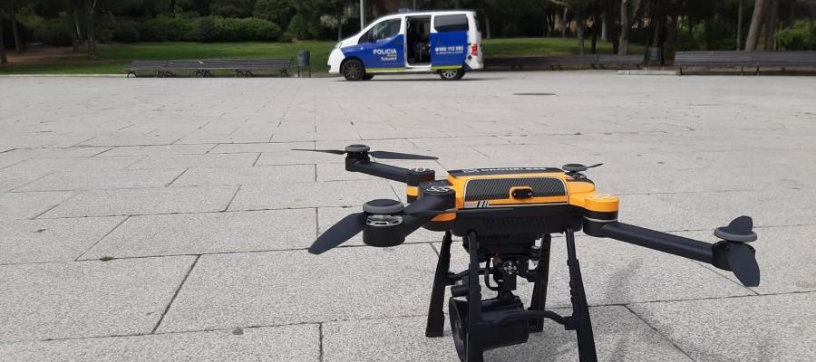 Els drons complementaran les tasques de vigilància dels agents | Roger Benet